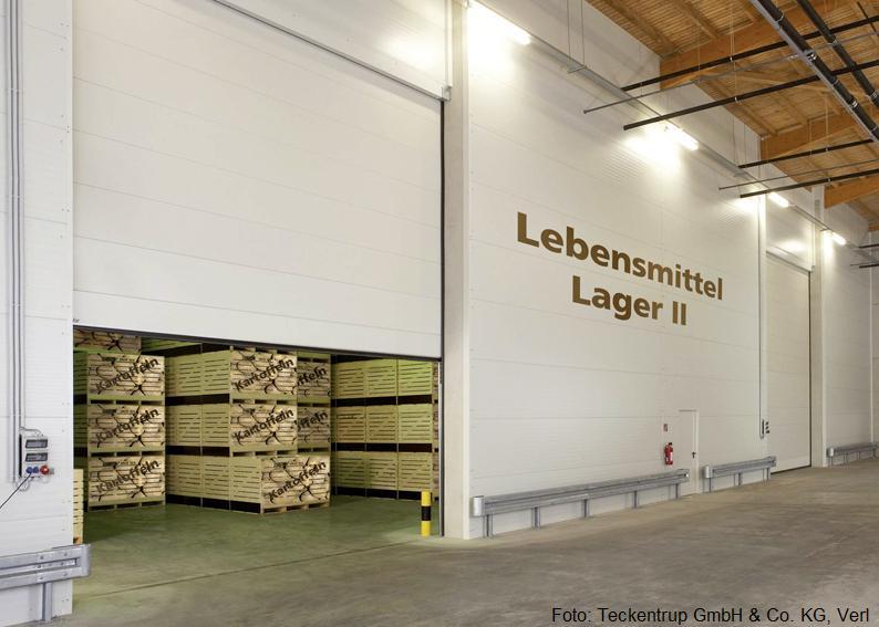 Teckentrup Industriesectionaltor SW 80