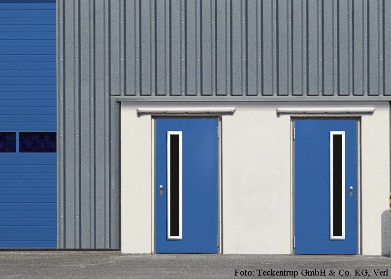 Mehrzwecktür Fabrikat Teckentrup - MZD