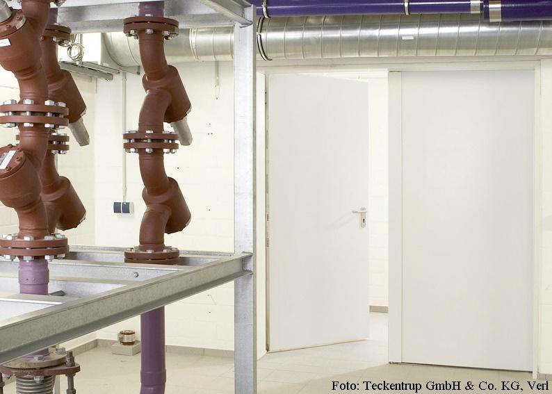 Rauchschutztür Fabrikat Teckentrup - Teckentrup RS